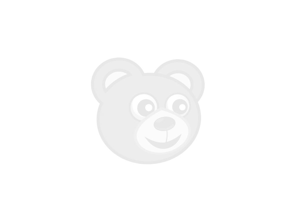 Stoel zwart met kunststof dop, 43
