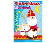 Sinterklaas kleurboek met stickers
