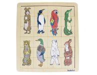 Combipuzzel dierenrijk