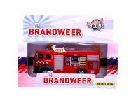 Speelgoedauto brandweer tankwagen