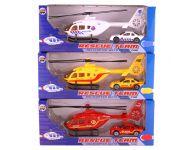 Speelgoed helikopter hulpdienst