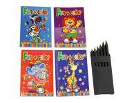 Kleur- en spelboekje met kleurtjes