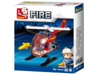 Brandweer helicopter