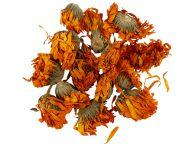 Gedroogde bloemen oranje 15 gram