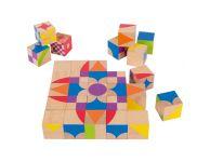 Houten puzzelblokken moziblox