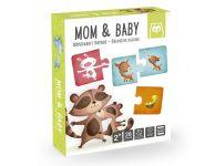 Puzzel mama en baby dieren