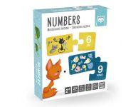 Puzzel tellen met dieren