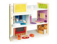 Maak je eigen houten droom poppenhuis