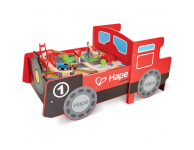 Inschuifbare houten trein speeltafel