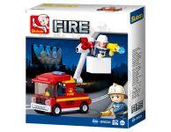Brandweer hoogwerker