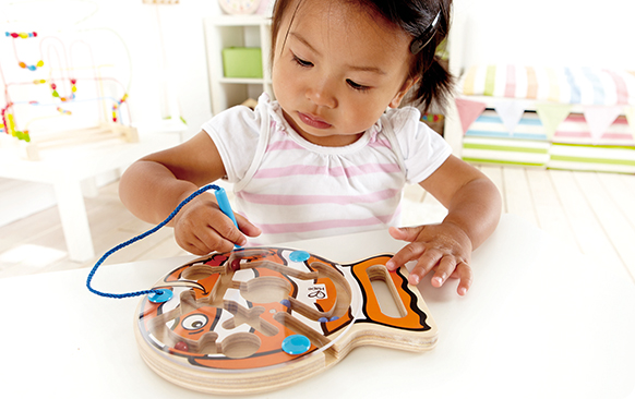Uitdagend educatief kinderspeelgoed