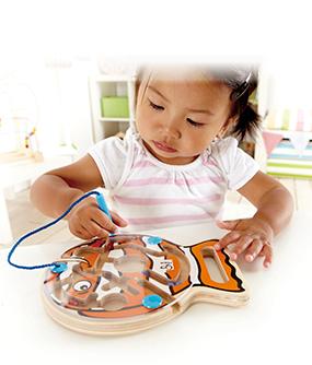Uitdagend educatief speelgoed